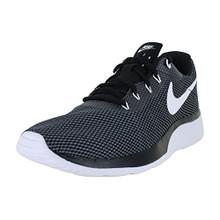 NIKE Men's Tanjun Racer Running Shoe (Dark Grey/White/Black)