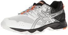 ASICS Men's Gel-Sonoma 3 Running Shoe, White/Silver/Hot Orange