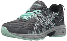 ASICS Women's Gel-Venture 6 Running-Shoes,Castlerock/Silver/Honeydew