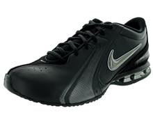 NIKE Men's Reax TR III SL Cross Trainer (Black/Newsprint/Mtllc Silver)