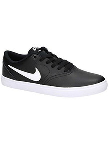 NIKE Mens SB Check Solar Black White