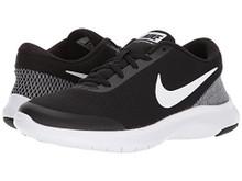NIKE Women's Flex Experience 7 Running Shoe, Black/White-White