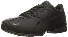 PUMA Men's Tazon 6 Fracture FM Sneaker, Black