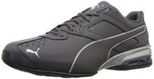 PUMA Men's Tazon 6 Fracture FM Sneaker, Periscope Silver