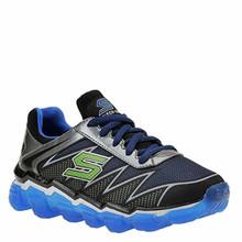Skechers Boys Skech-Air Turbo Drive Sneaker,Black/Blue/Lime