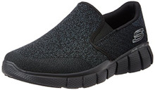 Skechers Sport Men's Equalizer 2.0 Wide Slip-on Loafer,Black