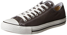 Converse Unisex Chuck Taylor All Star Low Top Charcoal Sneakers