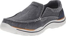 SKECHERS KIDS Boy's Expected-Avillo 96350L (Little Kid/Big Kid) Blue Sneaker 10.5 Little Kid M