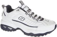 Skechers Energy After Burn Mens Sneakers White/Navy 10 W