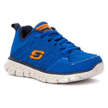 Skechers Boy's Kids' Synergy Power Blast Sneaker Pre/Grade School Blue/Navy
