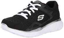 Skechers Kids 95515L Equalizer Sneaker,Black/White