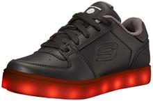 Skechers Kids Boys Energy Lights Elate Sneaker,,Black