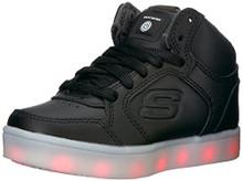 Skechers Kids Boys Energy Lights Sneaker,,Black