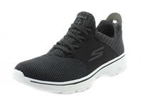 Skechers Mens GOwalk 4 - Instinct Black/White Sneaker