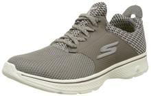 Skechers Mens Gowalk 4 - Instinct Taupe Sneaker