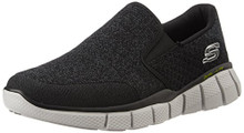Skechers Sport Men's Equalizer 2.0 Wide Slip-on Loafer,Black/White