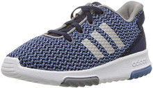 adidas Girls' Racer TR Inf Sneaker,Collegiate Navy/Collegiate Navy/Grey