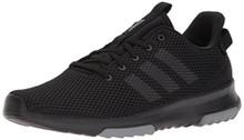 adidas Men's CF Racer TR Sneaker, Core Black, Core Black, Grey