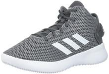 adidas Men's CF Refresh Mid Basketball Shoe, Grey Five/White/Grey Three
