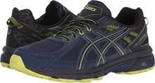 ASICS Men's Gel-Venture 6 Running-Shoes, Indigo Black/Energy Green