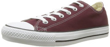 Converse Unisex Chuck Taylor All Star Ox Low Top Classic Burgundy