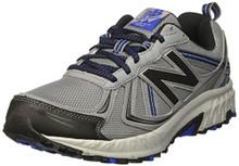 New Balance Men's MT410v5 Cushioning Trail Running Shoe, Grey