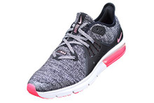 NIKE Air Max Sequent 3 (GS) Girls FashionBlack/White