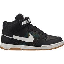 NIKE Boys' Mogan Mid 2 Jr Skateboarding-Shoes, Black/Summit White