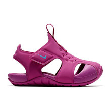 NIKE Girl's Sunray Protect Sandal Hyper Magenta/Royal Pulse