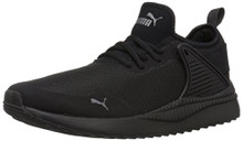 PUMA Men's Pacer Next Cage Sneaker, Black Black