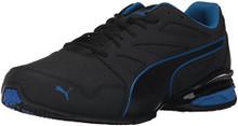 PUMA Men's Tazon Modern SL FM Sneaker, Black-Lapis Blue