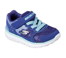 Skechers Kids Girls' Go Run 400-Sparkle Sprinters Sneaker, Bltq