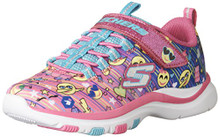Skechers Kids Girl's Trainer Lite - Color Dance (Little Kid/Big Kid)