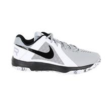 NIKE Men's Air Mavin Low Basketball Shoe  Wolf Grey/Black-White