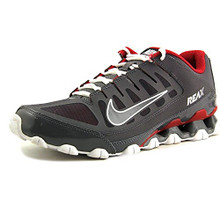 NIKE Men's Reax 8 TR Mesh Dark Grey/Dark Grey-Gym Red 621716-013 Shoe