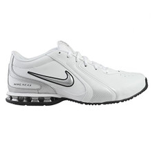 Nike Men's Reax Tr III Sl White/Metallic Silver/Black Training Shoe