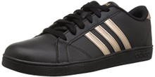 adidas Originals Unisex-Kids Baseline Sneaker, Black/Copper Metallic/Black