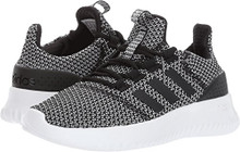adidas Performance Neo Boys' Cloudfoam Ultimate Sneaker, Black/Black/Metallic Silver