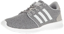 adidas Performance Women's Cloudfoam Qt Racer w Running Shoe, Clear Onix/White/Clear Onix