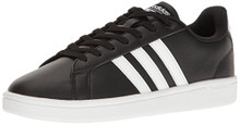 adidas Performance Women's Shoes | Cloudfoam Advantage Sneakers, Black/White/Black