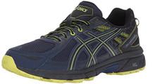 ASICS Men's Gel-Venture 6 Running-Shoes, Indigo Blue/Black/Energy Green