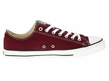 Converse Unisex Chuck Taylor All Star Ox Low Top Classic Burgundy Sneakers