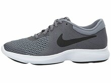 NIKE Boy's Revolution 4 (GS) Running Shoes  Dark Grey/Black/Cool Grey