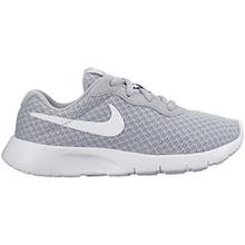 Nike Boys Tanjun Running Sneaker Wolf Grey/White/White