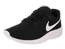 NIKE Kids Tanjun (GS) Running Shoe Black/White/White