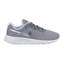 NIKE Tanjun Girls' Shoe Cool Grey/Metallic Silver-Blue Tint