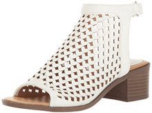 Nine West Kids' Kariana Wedge,White