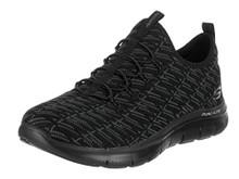 Skechers 12765W-BBK : Womens Flex Appeal 2.0 Insights Walking Sneaker Black