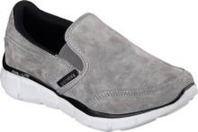 Skechers Boys' Equalizer Mind Game Slip On Shoe,Gray