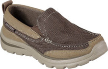 Skechers Boys' Relaxed Fit Superior Milford Loafer,Brown